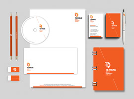 Corporate Identity for TGLN, USA